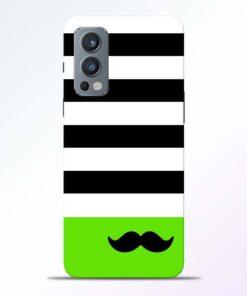 Multicolor Stripe Oneplus Nord 2 Back Cover
