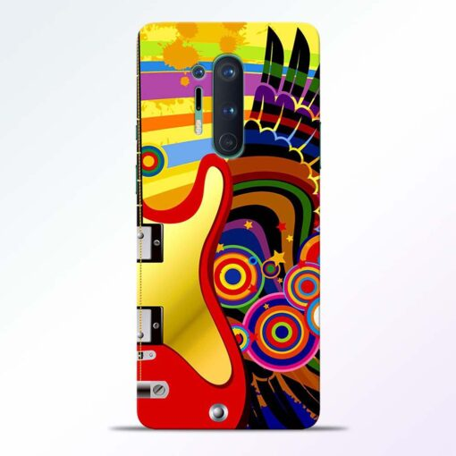 Music Art Oneplus 8 Pro Back Cover