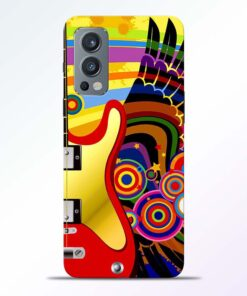 Music Art Oneplus Nord 2 Back Cover