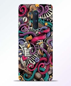 Music Artworks Oneplus 8 Pro Back Cover