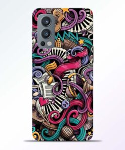 Music Artworks Oneplus Nord 2 Back Cover