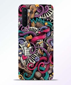 Music Artworks Oneplus Nord Back Cover
