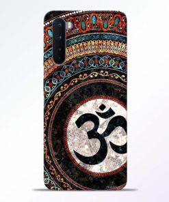 Om Symbol Art Oneplus Nord Back Cover