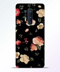 RosesFloral Fkower Oneplus 8 Pro Back Cover