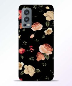 RosesFloral Fkower Oneplus Nord 2 Back Cover