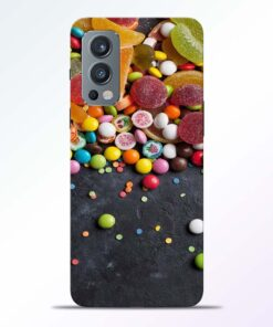 Spicy Food Multicolor Oneplus Nord 2 Back Cover