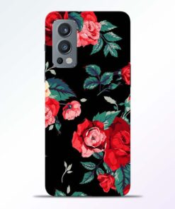 Vintage Flower Oneplus Nord 2 Back Cover