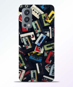 Vintage Music Oneplus Nord 2 Back Cover