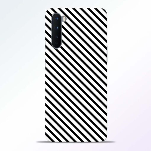 Waves Line Oneplus Nord Back Cover