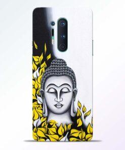 Yellow Buddha Art Oneplus 8 Pro Back Cover