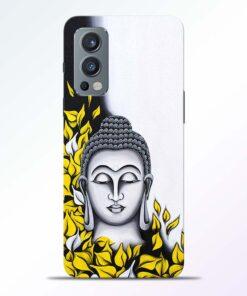Yellow Buddha Art Oneplus Nord 2 Back Cover